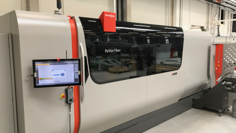 Nova Role - we have launched testing of the new laser Bystronic - ByStar Fiber 3015.
