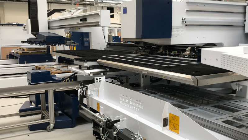 Nova Role - we have launched testing of the new punching machine TruPunch 5000.