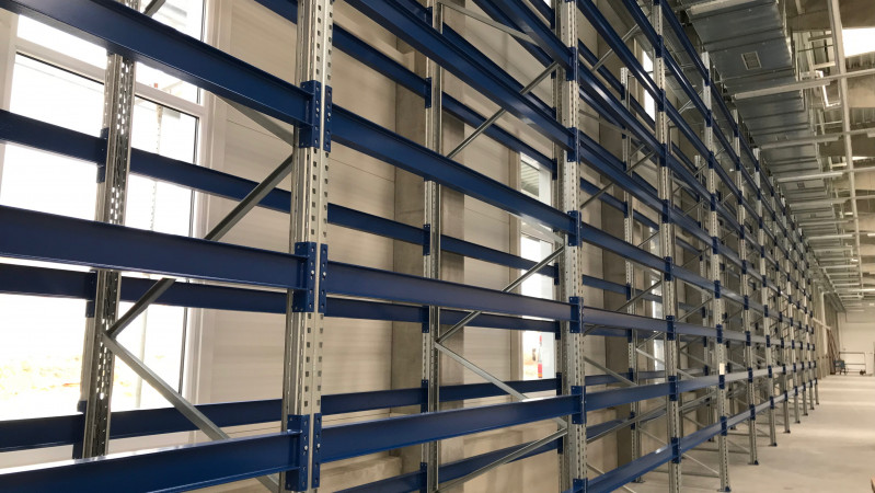 Nova Role - We have installed a new racking systems.
