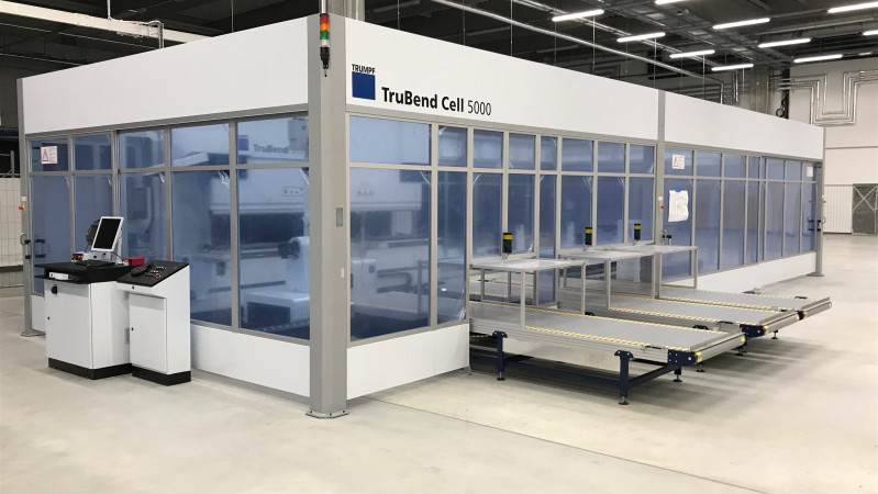 Nova Role - we are currently installing a new bending robot TruBend Cell 5000.