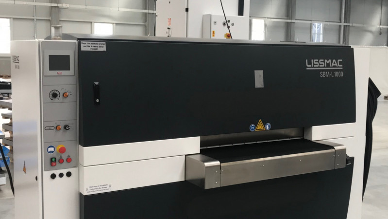 Nova Role - We have installed a new LISSMAC deburring machine!