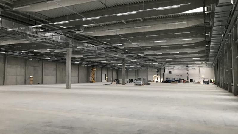 Nova Role - die Fertigstellung unserer neuen Produktionshalle steht kurz vor der Tür!