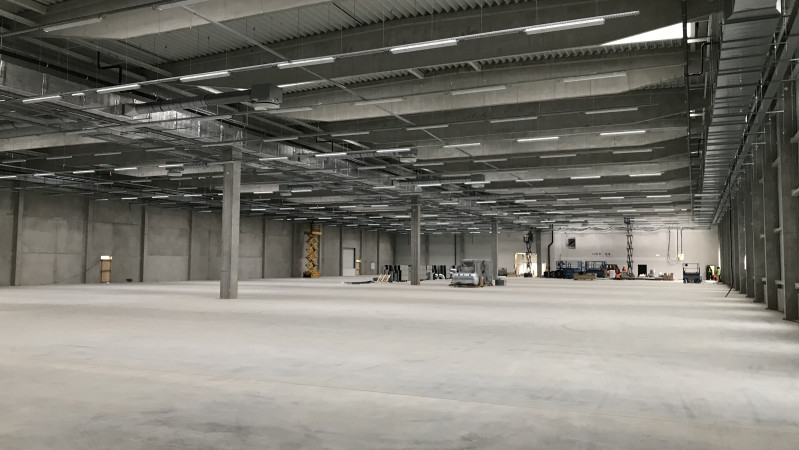 Nova Role - The completion of our new production hall is near!